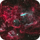Heart of the Lobster in Narrowband—NGC 6357,                                Russ Carpenter
