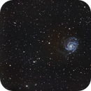 Galaxia espiral M101,                                Alfredo Beltrán