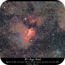 M17 Omega Nebula,                                Paul Brand