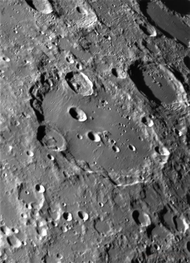 Moon - Clavius Rgeion on May, 15th,                                Pascal Gouraud