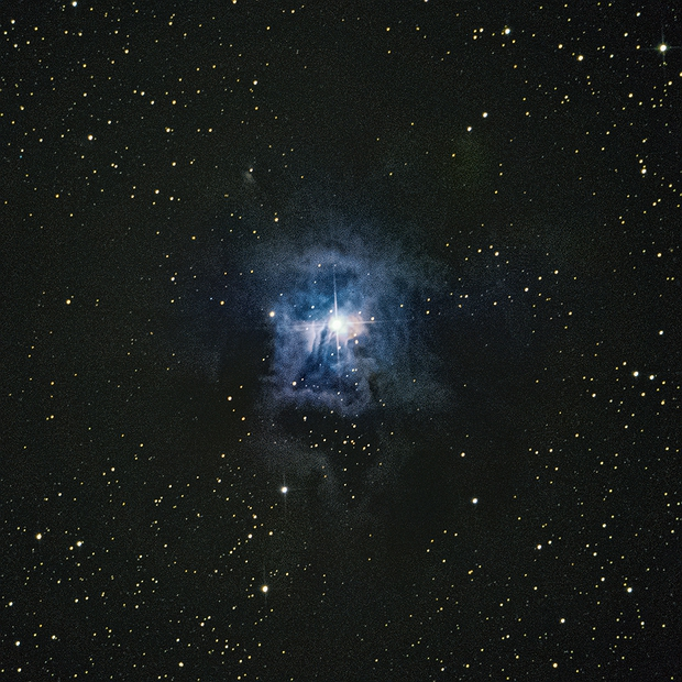 Iris Nebula -NGC7023,                                CsabaTorma