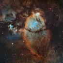 The Fishead Nebula in Hubble Palette IC 1795,                                Bogdan Borz
