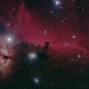 NGC 2024 Flammennebel und IC 434 Pferdekopfnebel,                                Horst Twele