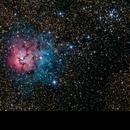 M20 - Trifid Nebula,                                Kemal Öz