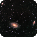 M81 / 82 - interacting galaxies,                                Tom Gray
