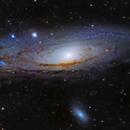 M31 - Andromeda Galaxy,                                Matt Baker
