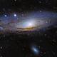 M31 - Andromeda Galaxy,                                matt_baker