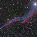 NGC 6960 - the Veil Nebula and 52 Cygni,                                rhedden