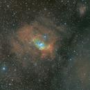 NGC 7635 Bubble Nebula Ha SHO RGB,                                apophis