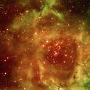 Rozette nebula,                                kskostik