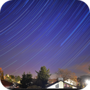 Startrails above my city,                                equinoxx