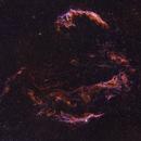 The Veil Nebula,                                Sharky