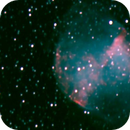 a 10 years old m27 - 90 30 seconds unguided exposures with an mx716c, a C8 and a GPDX,                                Stefano Ciapetti