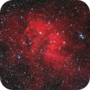 The Lion Nebula - SH2-132 LRGB-Ha-OIII,                                Thomas Richter