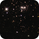 Merge and processing of Hubble's data, a famous Einstein ring,                                Benoit Blanco