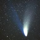 Comet C/1995 O1 Hale Bopp near M34,                                Albert van Duin