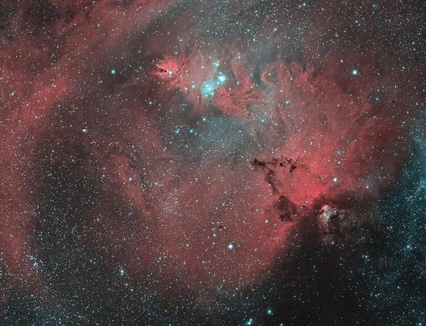 NGC2264  EF200 f/2.8  /  ATIK ONE  /  AZEQ5,                                Pulsar59