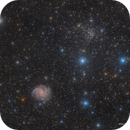 The Fireworks Galaxy (NGC 6946) and NGC 6939,                                Eric Coles (coles44)