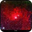 IC 405-The Flaming Star Nebula,                                Lawrence E. Hazel