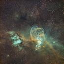 NGC 3576, The Statue of Liberty Nebula,                                Javier