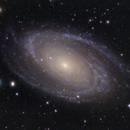 M81 Bodes Galaxy Quick OSC,                                Brandon Tackett