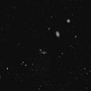 Markarian's Chain of galaxies in Virgo,                                RonAdams