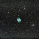 Messier 27: The Dumbbell Nebula,                                Will