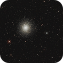 Kugelsternhaufen Messier (M) 13 im Herkules - neu bearbeitet,                                astrobrandy
