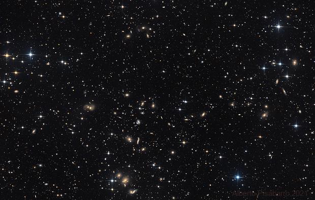 Cluster of Galaxies Abell 2151,                                Alberto Pisabarro