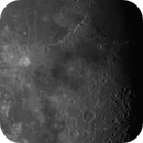 Moon mosaik with TAL 2 150 / F8 russian Newton,                                Uwe Meiling