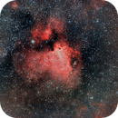 M17 Nebulosa Omega (Omega Nebula) HaRGB,                                Alfredo Beltrán