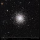 Messier 92 - Globular Cluster,                                Mike Oates