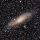 M31, galassia a spirale in Andromeda (rielaborazione con Pixinsight),                                Giuseppe Nicosia