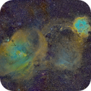 Rosetta, Cone and the Monoceros Loop in SHO,                                Cfosterstars