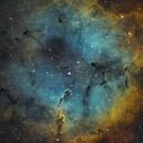 Elephants Trunk Nebula - IC1396 in SHO,                                Tommy Lease