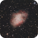 M 1 Crab Nebula LRGB,                                Robert Schumann