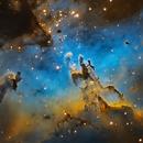 M16 Eagle Nebula Core,                                Steven Miller
