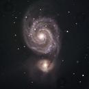 m51 Whirlpool Galaxy,                                Matt
