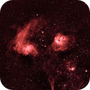 Flaming Star Nebula,                                Sean