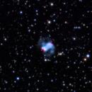 M76, the little Dumbell nebula,                                Matteo Mooren