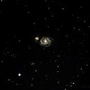 M51  Whirlpool Galaxy,                                RonAdams