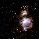 M42 Orion Nebula Wide Field,                                Dylan Woodbrey