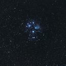 M45 - Les pleiades,                                Xavier DAUVIN