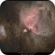 M42 The Great Nebula in Orion a different perspective 9/29/2015,                                rigel123