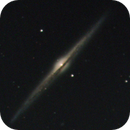 NGC4565 OF 2009 - an experiment with 2 telescopes on top of the GPDX,                                Stefano Ciapetti