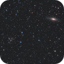 NGC7331 and Stephan's Quintet - AT6RC,                                Andrew Burwell
