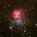M20 Trifid Nebula,                                DavidLJ