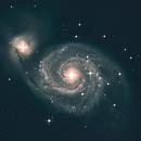 Whirlpool Galaxy(M51),                                NebulaInBloom