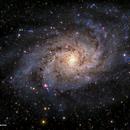 Messier 33 - The Triangulum Galaxy - a second attempt,                                Patrick Cosgrove
