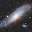 M31 - Andromeda Galaxy,                                Forest Chaput de Saintonge